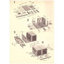 Bauanleitung Shell Tankstelle