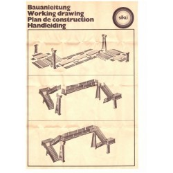 Construction manual footbridge