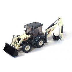 Terex back hoe loader