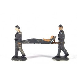 Verplegers met brancard