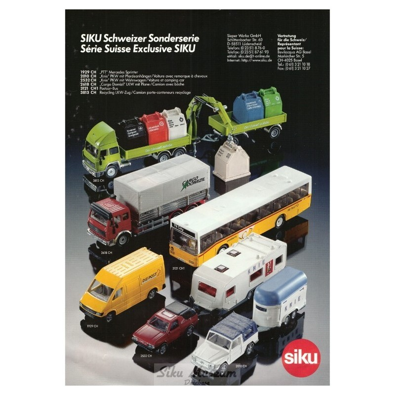 Zwitserse exportmodellen