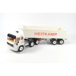 Mercedes SK tipping trailer Heitkamp