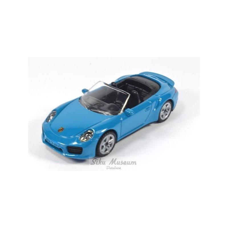 Porsche 911 Turbo S cabriolet preproductiemodel